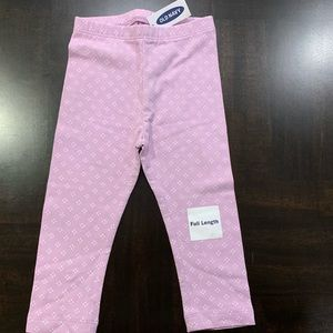 Baby Girls Print Pattern Leggings Size 18-24M